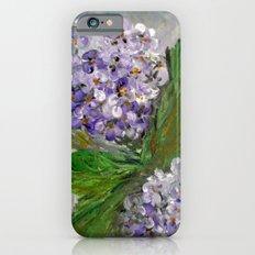 Purple Hydrangea iPhone 6s Slim Case