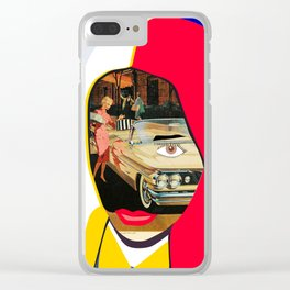 Car Portrait Clear iPhone Case