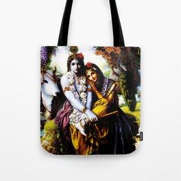 Hindu Krishna 3 Tote Bag