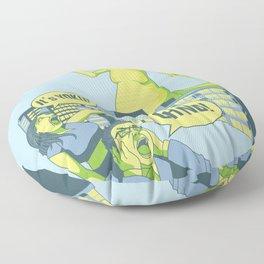 Yoko Oh No! Floor Pillow