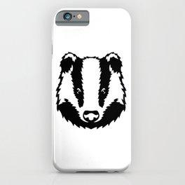 Magic cute Badger iPhone Case