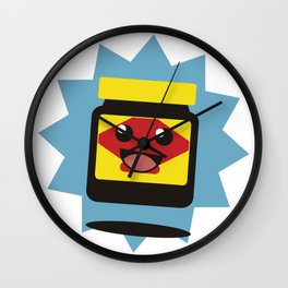 Happy Little Vegemite Wall Clock