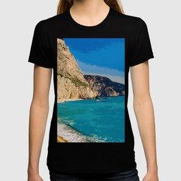 Lefkada Paradise - Porto Katsiki T-shirt