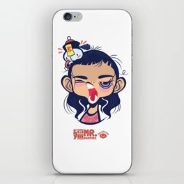 Sleepy Taoist Priest iPhone Skin