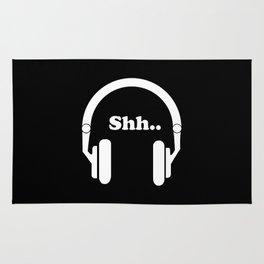 Headphones and music Rug