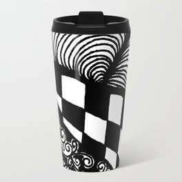 Zentangle #21 Travel Mug