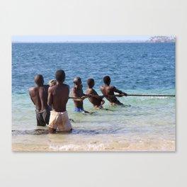 Fishermen Canvas Print