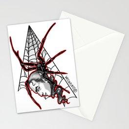 Vampire Spider Stationery Cards