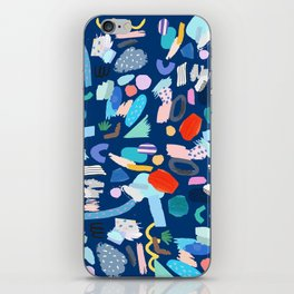 """Save The Earth"" Colourful Contemporary Art iPhone Skin"