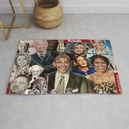 Obama Biden Bernie Kamala Hillary Nancy Michelle Rug