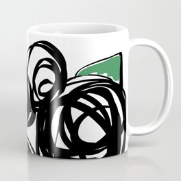 Black Roses Coffee Mug