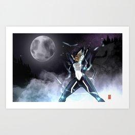 Lunar Champion Art Print