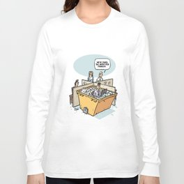 Solution to the untidy desk problem Long Sleeve T-shirt