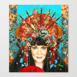 l'artiste exotique Canvas Print