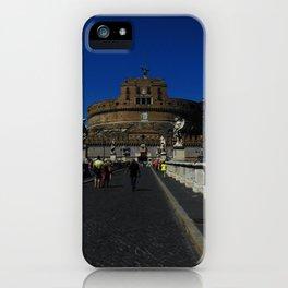 Castel Sant'Angelo, Rome, Italy iPhone Case