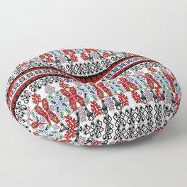 Midnight autumn dream Floor Pillow