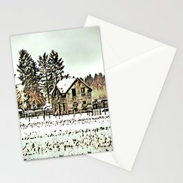 A Hazy Shade Of Winter  - Graphic 2 Stationery Cards