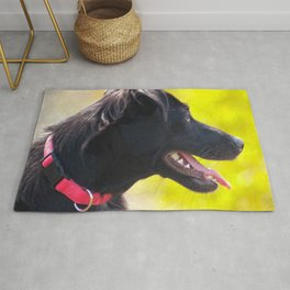 Dogs laughed Rug