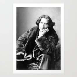 The Picture of Oscar Wilde Art Print