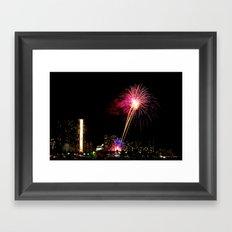 Friday Night Lights ... Waikiki Style Framed Art Print