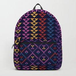 Bohemian Kilim Ethnic Pattern 1 Backpack