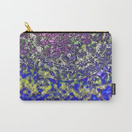 Multicolor Mandala Art Carry-All Pouch