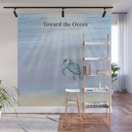 Toward the Ocean Wall Mural