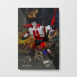 Red Alert, Roll Out!!! Metal Print