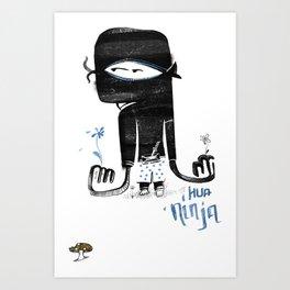Hua Ninja Art Print