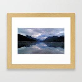 Kintla Lake Framed Art Print