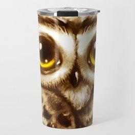 Owl Face Travel Mug