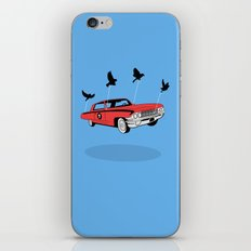 Four Wheel Fly iPhone Skin