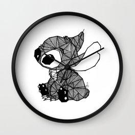 Geometric Stitch Wall Clock