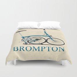 Brompton Bike Duvet Cover
