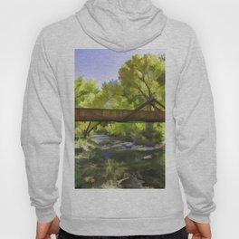 Footbridge Over Bear Creek Hoody