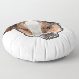 Jack Russell poly Floor Pillow