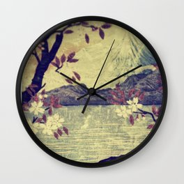 Templing at Hanuii  Wall Clock