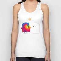 hippie Tank Tops featuring Hippie ghost by Picomodi