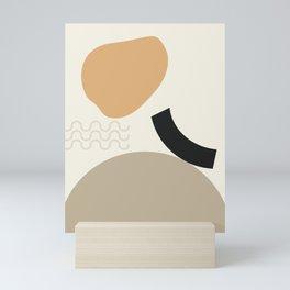 // Shape study #24 Mini Art Print