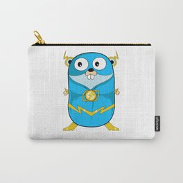 Golang - Iris Gopher Carry-All Pouch