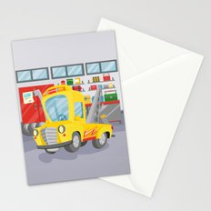 tow truck Stationery Cards
