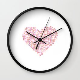 Computer Geek shirts Wall Clock
