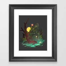 Headless Hunter Framed Art Print