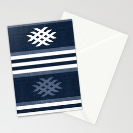 Otto in Navy Blue Stationery Cards