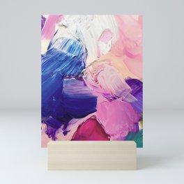 Saturday Night (Abstract Painting) Mini Art Print