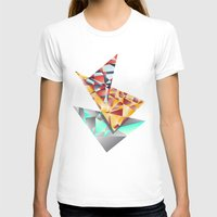 rush T-shirts featuring Triangle Rush! by Hungry Design