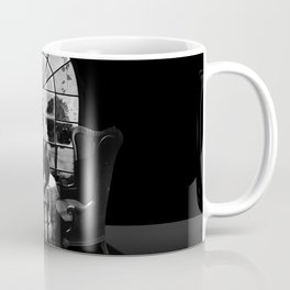 Room Skull B&W Coffee Mug