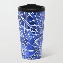 Schismatoglottis Calyptrata – Navy Palette Travel Mug