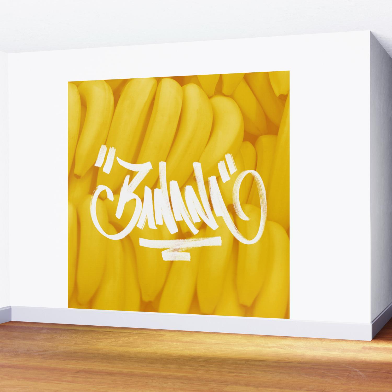 BananaTag Wall Mural