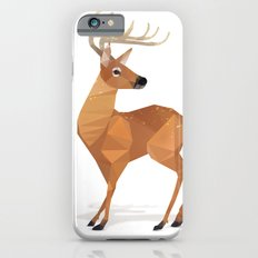 Low Poly White-tailed Deer Slim Case iPhone 6s